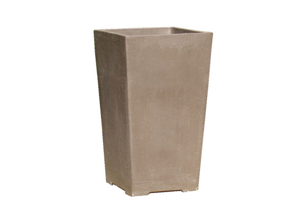 Picture of Yixing Clay Tall Square Planter
