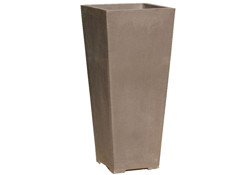Picture of Yixing Clay Extra Tall Square Planter