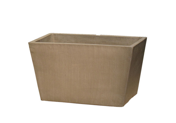 Picture of Yixing Clay Tapered Rectangular Planter