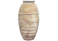 Picture of Tall Large Round Jar with Ribs