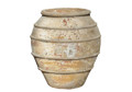 Picture of Round Urn with Lines