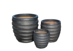 Picture of Pots w/ Parallel Bands
