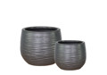 Picture of Round Pots w/ Ridges