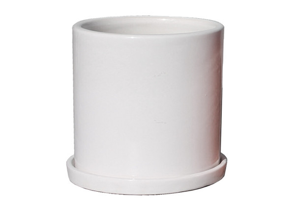 Picture of Medium Cylinder Pot w/ Saucer