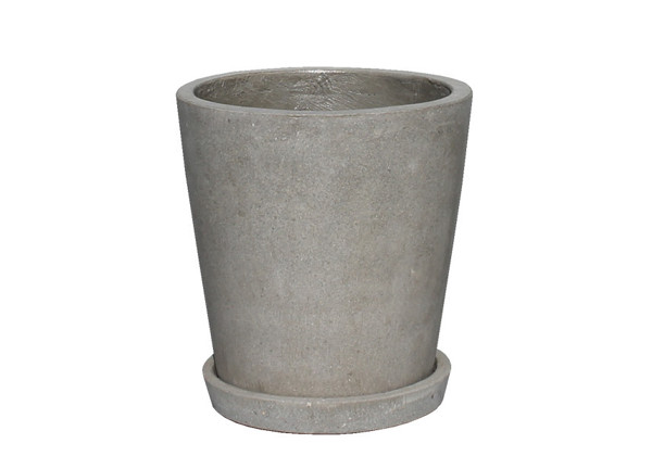 Picture of Cone Pot w/ Saucer