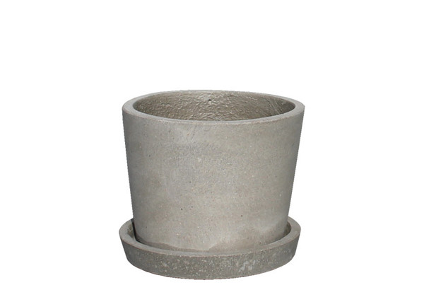 Picture of Short Cone  Pot w/ Saucer