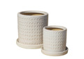 Picture of Cylinders w/ Saucers Debossed