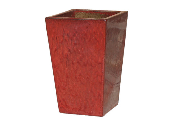 Picture of Tall Square Medium Tapered Planter