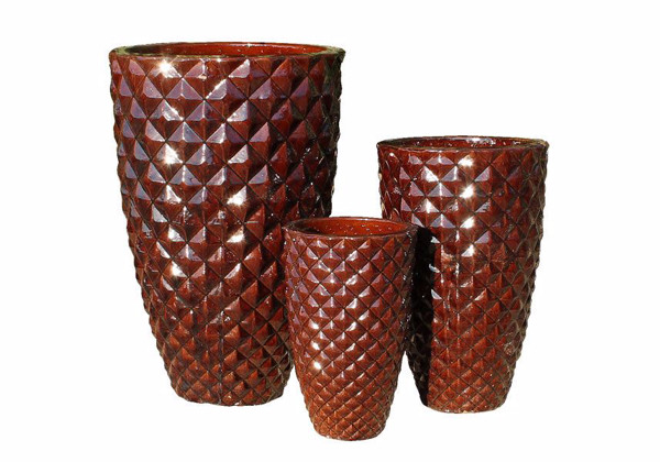 Picture of Tall Diamond Pattern Planters