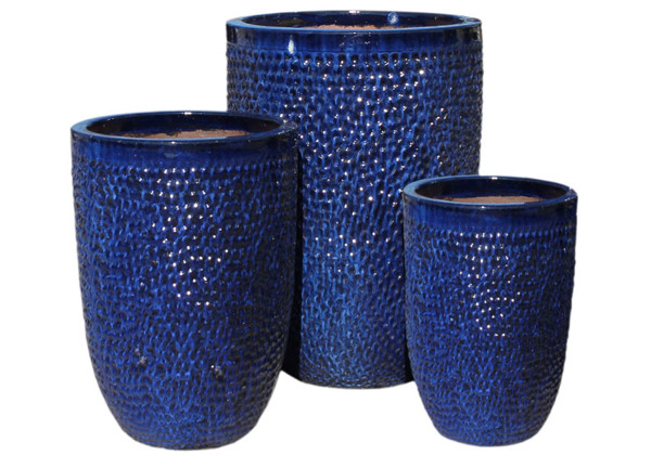 Picture of Tall Hammered Planters
