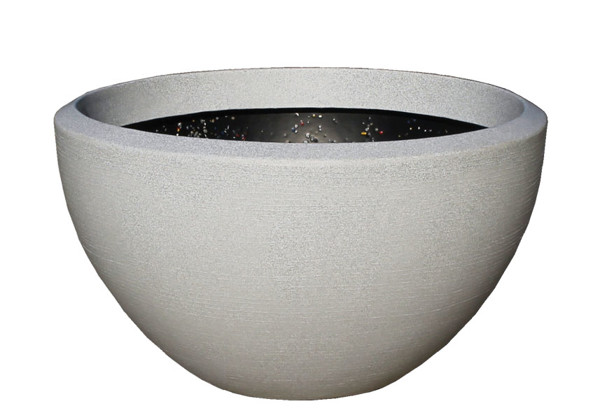 Picture of XLarge Wide Round Polymer Planter
