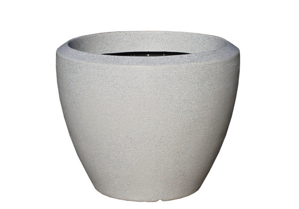 Picture of Large Rnd Curved Polymer Planter