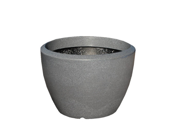 Picture of Med Rnd Curved Polymer Planter