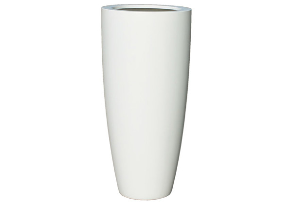 Picture of Tall Cone Fiberglass Planter